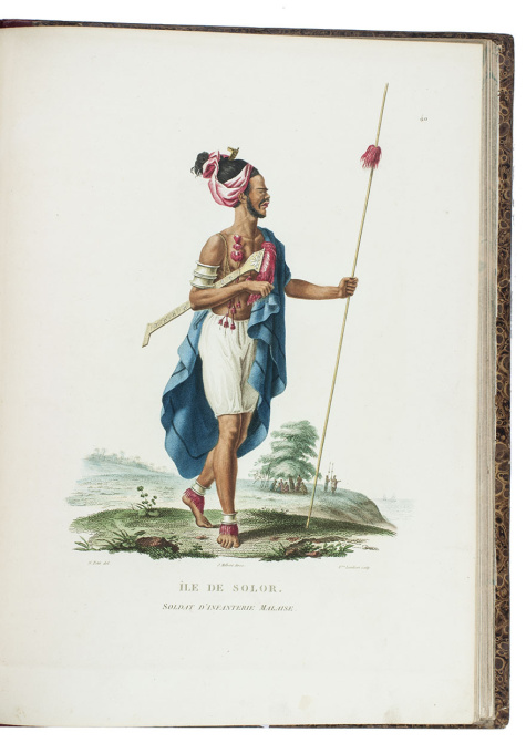 Second and improved edition of one the finest items of Australiana by François Auguste Péron
