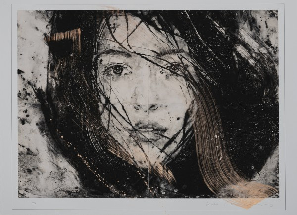 Zonder Titel (gold) by Lidia Masllorens