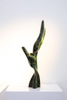 Victory in Bronze - Small, Oxidized by Samuel Dejong