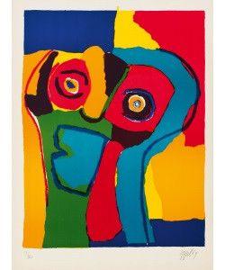 'Visage' by Karel Appel