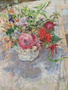The lustre jug from chipping Camden by Diana Armfield