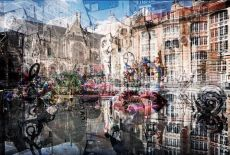The Fountains around the Centre Pompidou by Jack Marijnissen