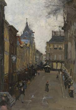 The Lange Poten, The Hague by Floris Arntzenius