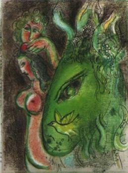 Paradis (A L'Ane) by Marc Chagall