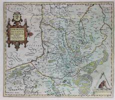 Hertogdom Limburg Mercator Hondius 1619 by Hondius, Jodocus