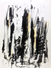 Composition Jaune/Noir: Trees by Joan Mitchell