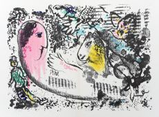 Rêverie /  Daydream by Marc Chagall