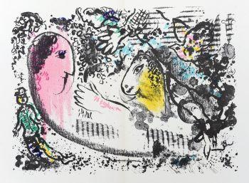 Rêverie /  Daydream by Marc Chagall