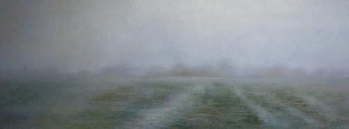 Polderlandschap by Anneke Elhorst