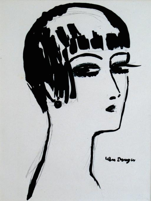 Les Cheveux courts by Kees van Dongen
