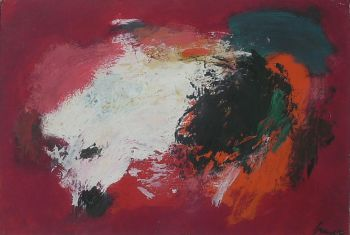 'Fond Rouge' by Eugene Brands