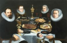 Portrait of a Patrician family by Unknown Artist