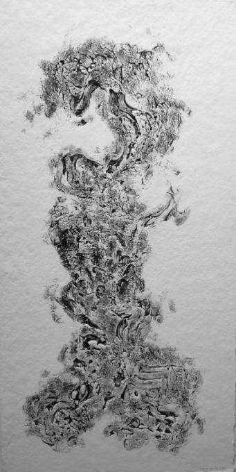 Zonder titel V Black by Hans Keuls