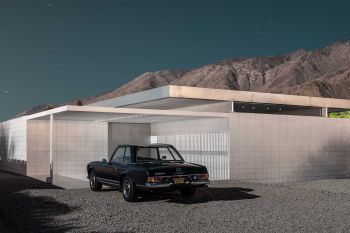 Mountain Mercedes - Midnight Modern by Tom Blachford
