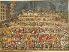Bijltjesdag Amsterdam by Schultz, Joh. Christoffel