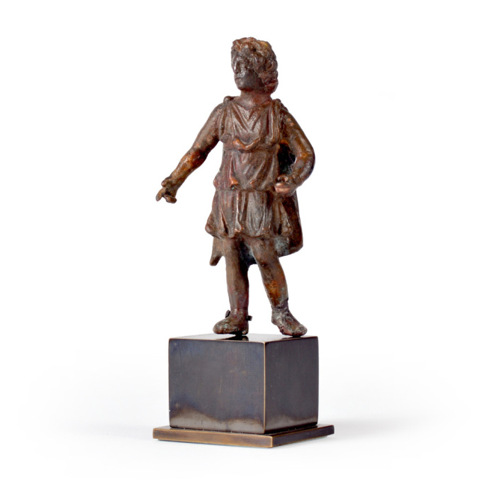 Bronze statuette of Alexander the Great by Unknown Artist