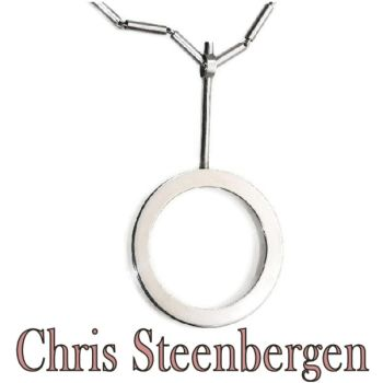 Artist Jewelry by Chris Steenbergen silver necklace and pendant by Unknown Artist