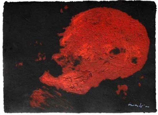 Kopf (rot) by Armando .