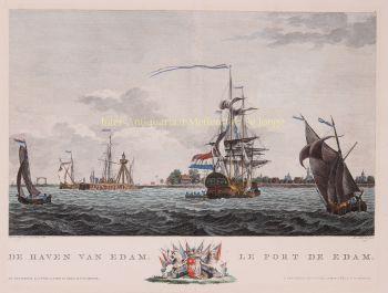 Edam, after Dirk de Jong by  Matthias de Sallieth