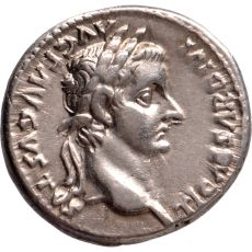 AR Denarius Tiberius (14-37) by Unknown Artist