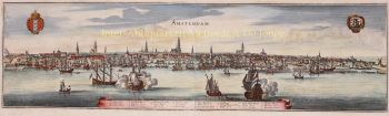Amsterdam  by  Caspar Merian