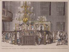 Vertooning der Boeken van Mozes, op den Verzoendag in de Portugeesche Joodse Kerk, te Amsterdam by Hulk, Abraham Jacobsz.
