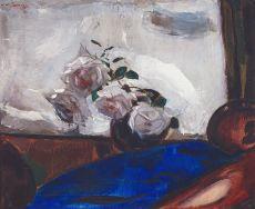 Roses in a Vase by Jan Sluijters