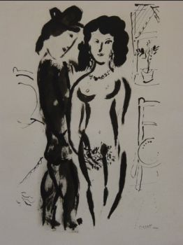 The Lovers by Marc Chagall