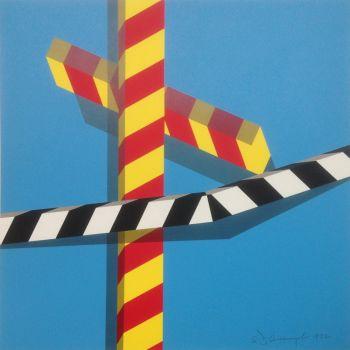 Sky Bars by Allan D'Arcangelo