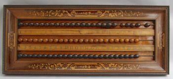Billiards scoreboard, Charles X, France by Unknown Artist