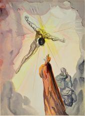 Divina commedia paradiso 14 by Salvador Dali