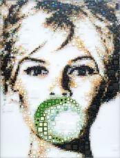 Brigitte Bardot Bubble by Isabelle Scheltjens