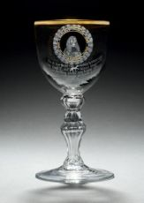 Glass honouring Hendrik Hooft, Mair of Amsterdam by Unknown Artist