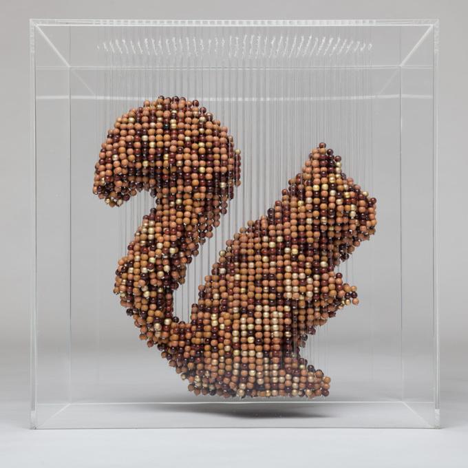 Squirrel by Natasja van der Meer
