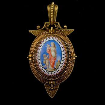 Medallion by Eugene Fontenay