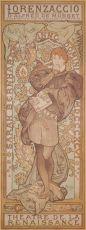 AFFICHE VAN DE GROOTMEESTER  by Mucha, Alphonse