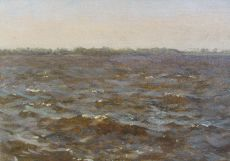 Rough water by Willem Bastiaan Tholen