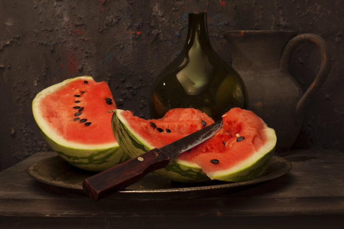 Water Melon  by Mos Merab Samii
