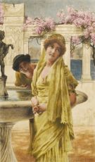 A Difference of Opinion by Lawrence Alma-Tadema