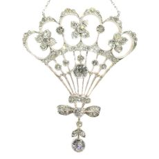 Belle Epoque diamond pendant most probably Austrian Hungarian by Unknown