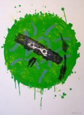 'Groene zon' by Jef Diederen