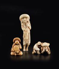 Dutchmen in Miniature by Unknown Artist