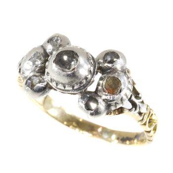 Antique Baroque/Rococo diamond ring by Unknown Artist