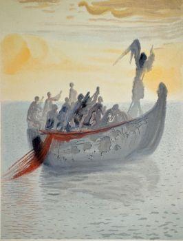 Divina commedia purgatorio 02 by Salvador Dali