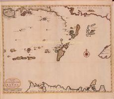 Kaart van de Zuyd-Ooster Eylanden van Banda by Valentyn, Francois (1666-1727)