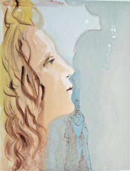 Divina commedia paradiso 08 by Salvador Dali