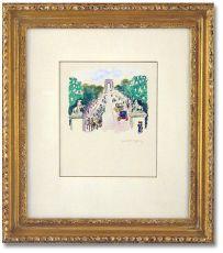 Les Chevaux de Marly et les Champs-Elysees