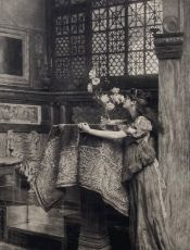 In my studio  by Lawrence Alma-Tadema