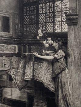 In my studio  by Lawrence Alma-Tadema
