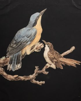 Eight drawings of birds by Unknown Artist
